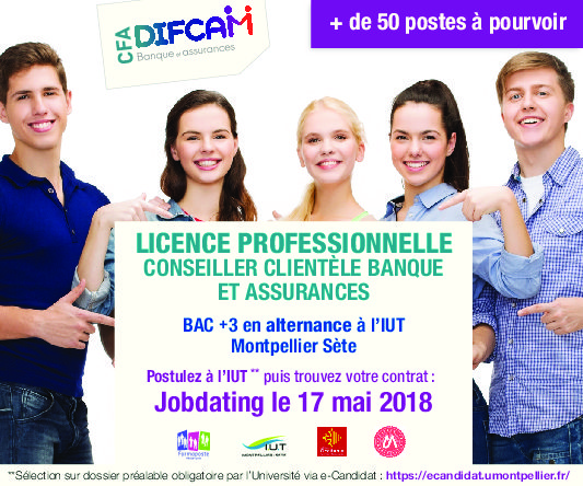 Job dating banque assurance